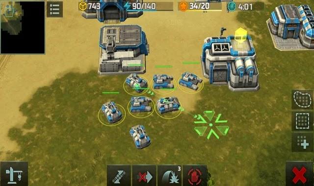 تحميل لعبة art of war 3 للجوال