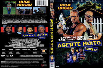 Filme Agente Muito Secreto (The Secret Agent Club DVD Capa
