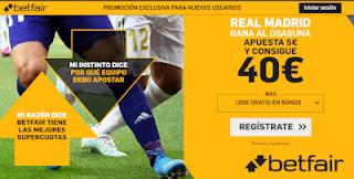 betfair supercuota Real Madrid gana a Osasuna 25 septiembre 2019