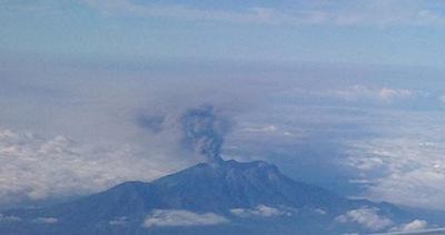 Bahaya Abu Vulkanik Gunung Raung Bagi Kesehatan
