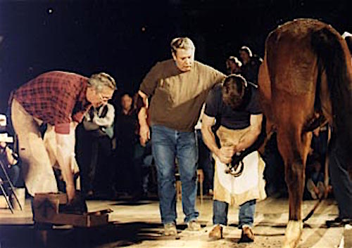 American Farrier's Association Convention working farrier clinic
