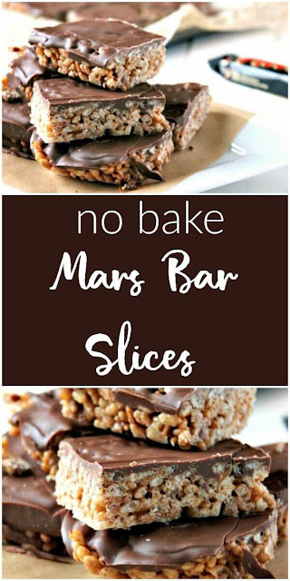 Mars Bar Slices