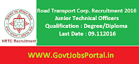 Road Transport Corporation Recruitment