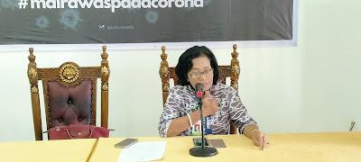 Juru bicara Pemda Malra untuk Penangan Covid-19, dr. Katrinje Notanubun. Foto (GG)