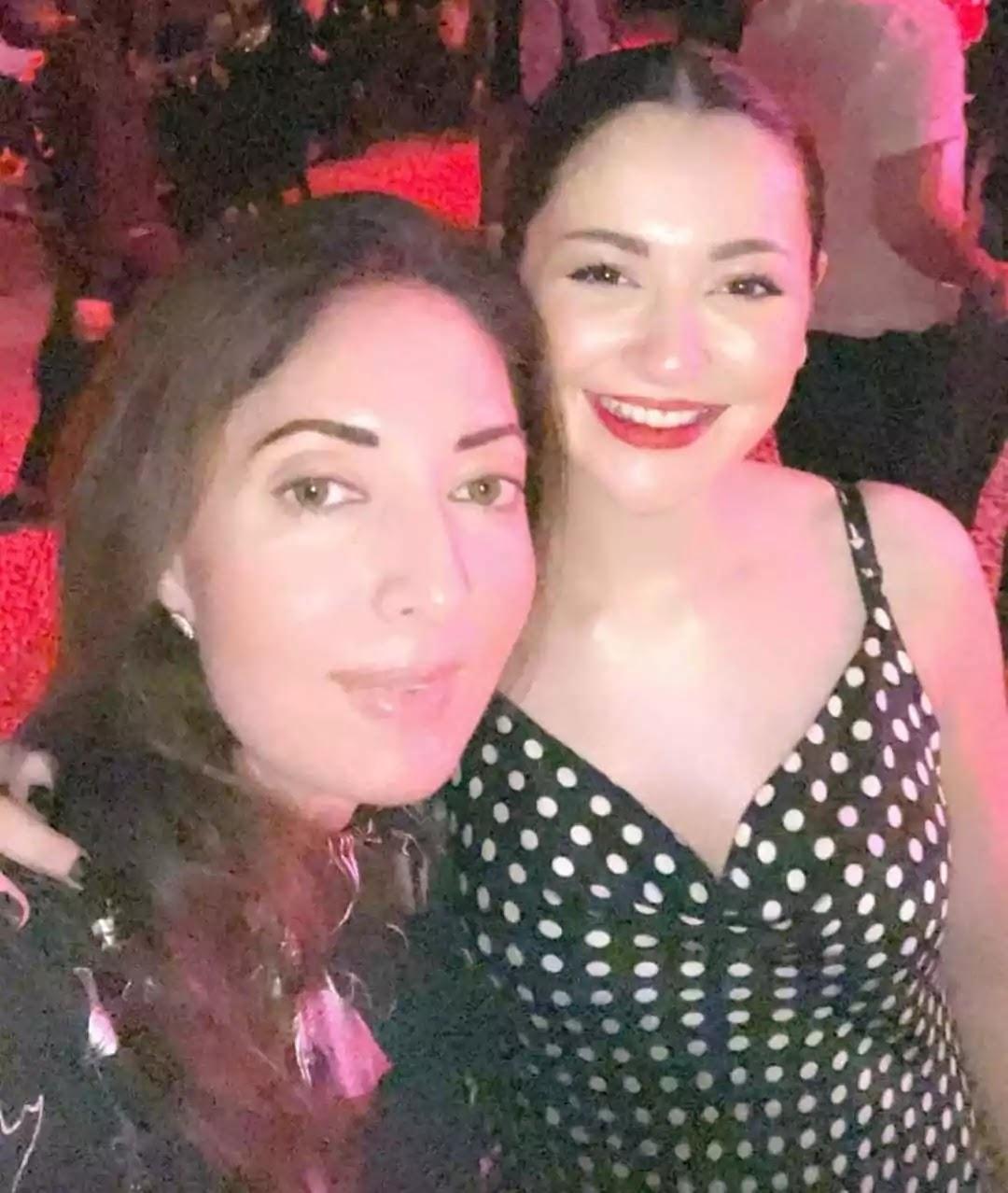 Hania Amir Last Night On Party Enjoy Clicks With School Friends