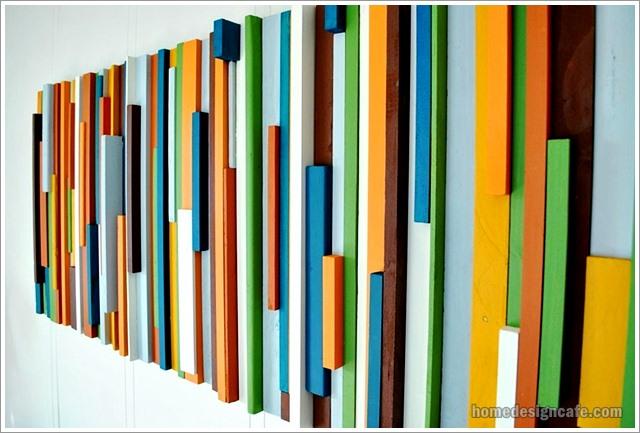 DIY Wood Wall Decor for Home