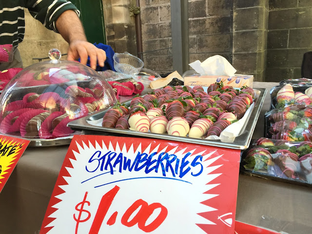Sydney - Paddington Market Strawberries