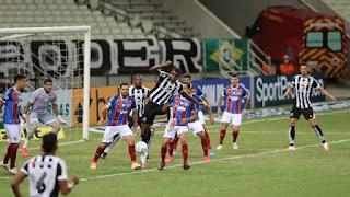 Ceará vence novamente o Bahia, desta vez pelo Brasileirão