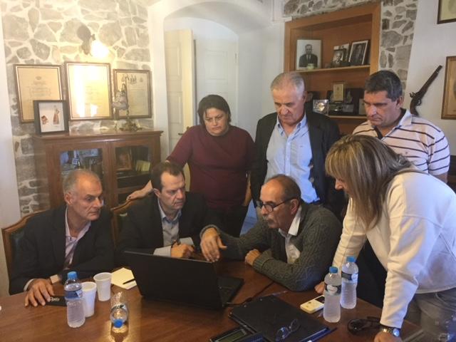 Επίσκεψη Γ.Δέδε και Γ.Γκιόλα στην πληγείσα Ερμιονίδα