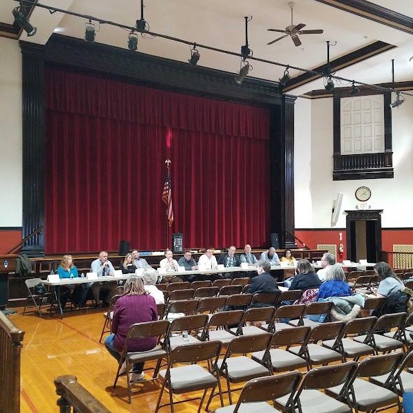 Farmington Woman's Club Local Candidate Forum Photos