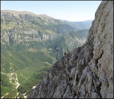 Homedes al Gat, Pedraforca, escalada