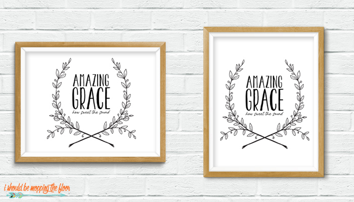 Amazing Grace Printable