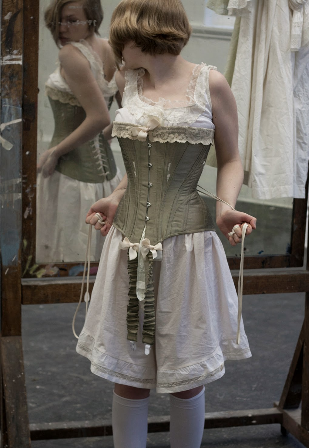 1458afb04dc7 Edwardian Corset and Combinations | Handmaid's Trade