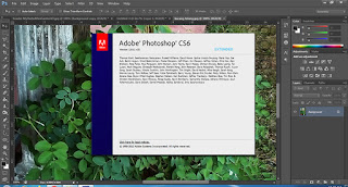 screenshot of Adobe Photoshop Photo Editor