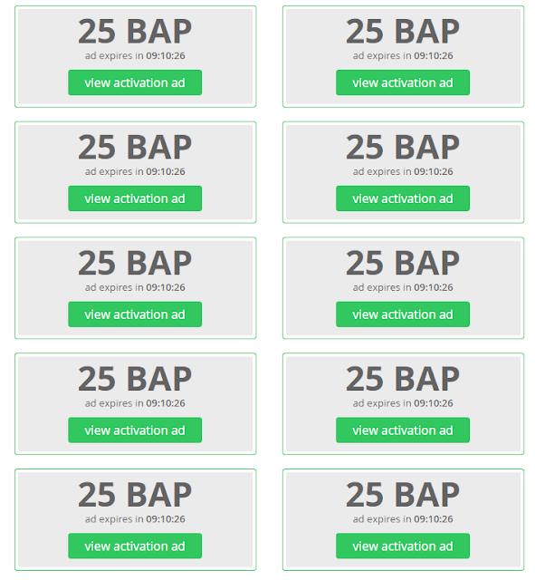 Bonus ad points | BAP Paidverts