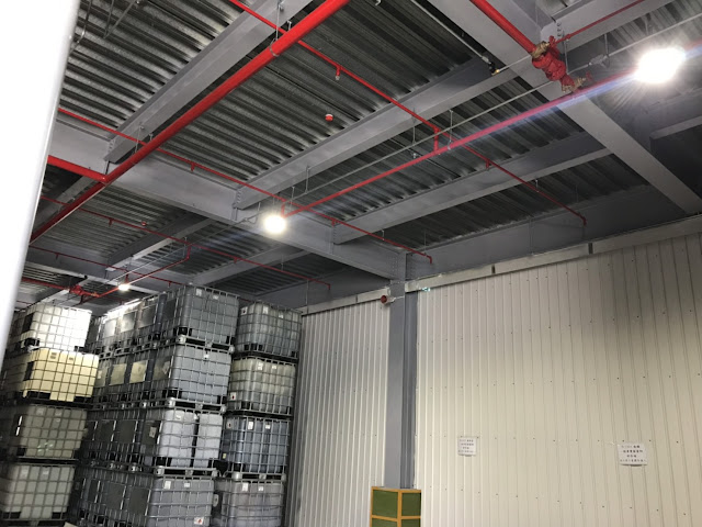 Hazardous Location LED High Bay Light_Field Installation