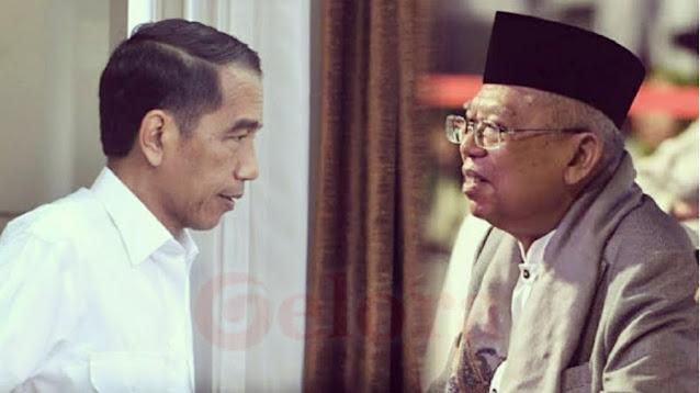 Jokowi atau Maruf Amin yang Lengser?