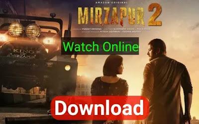 Mirzapur Season 2 Download All Episodes - FilmyHit