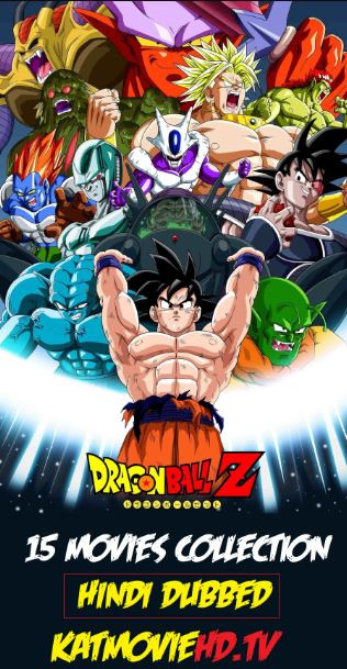 Dragon Ball Z All 15 Movie Collection Hindi Dubbed Bluray 720p 480p x264 Complete Pack Download