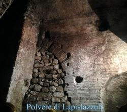 gallerie di tufo e opera reticolata di epoca romana