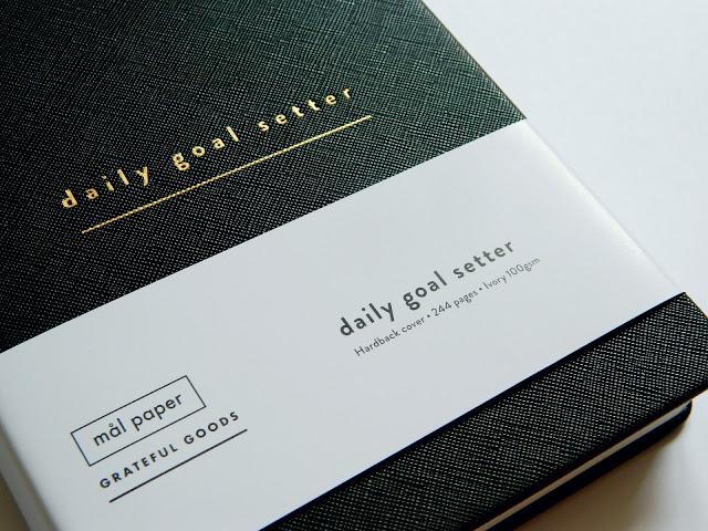 Mal Paper Daily Goal Setter Planner*