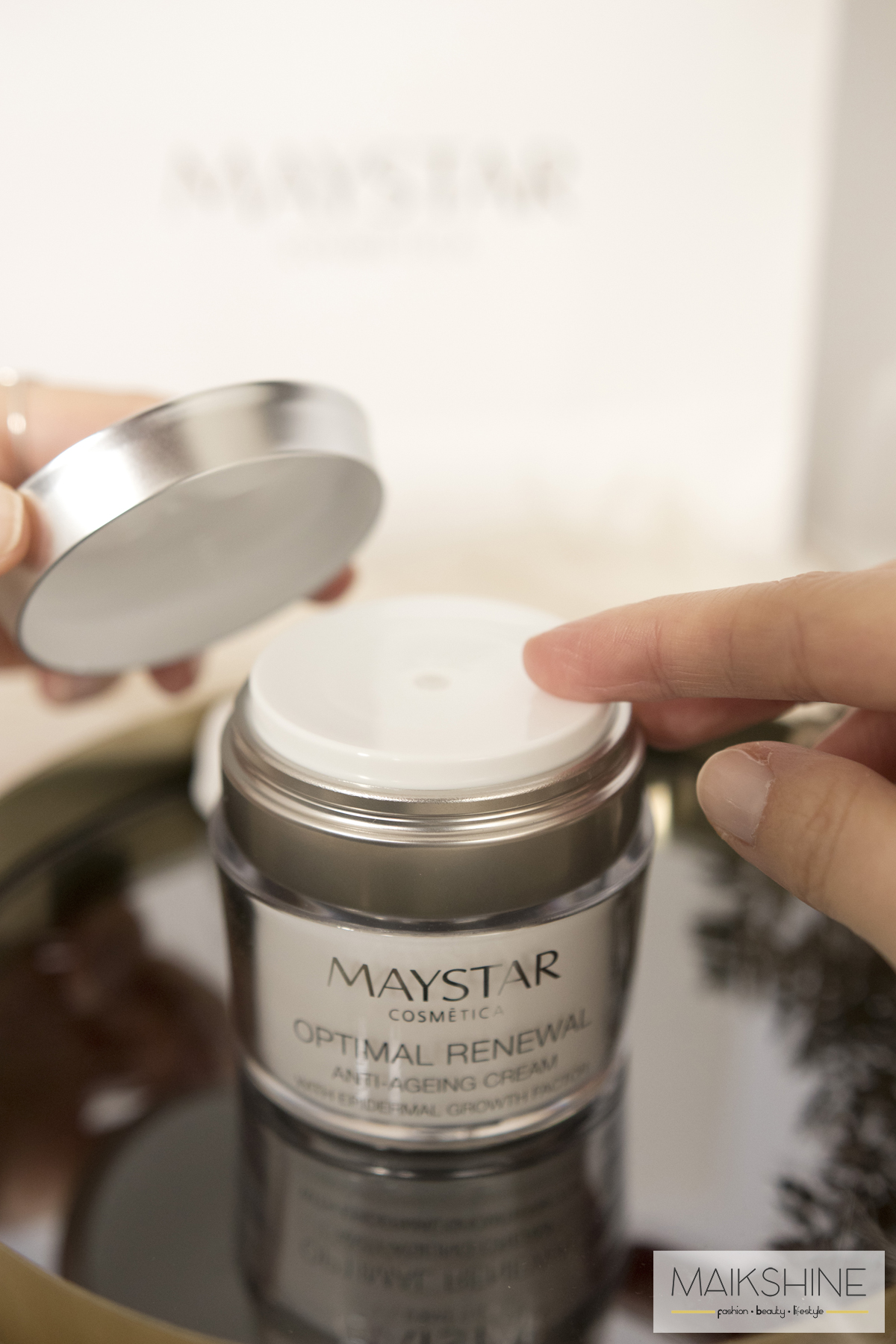 Maystar Optimal Renewal crema