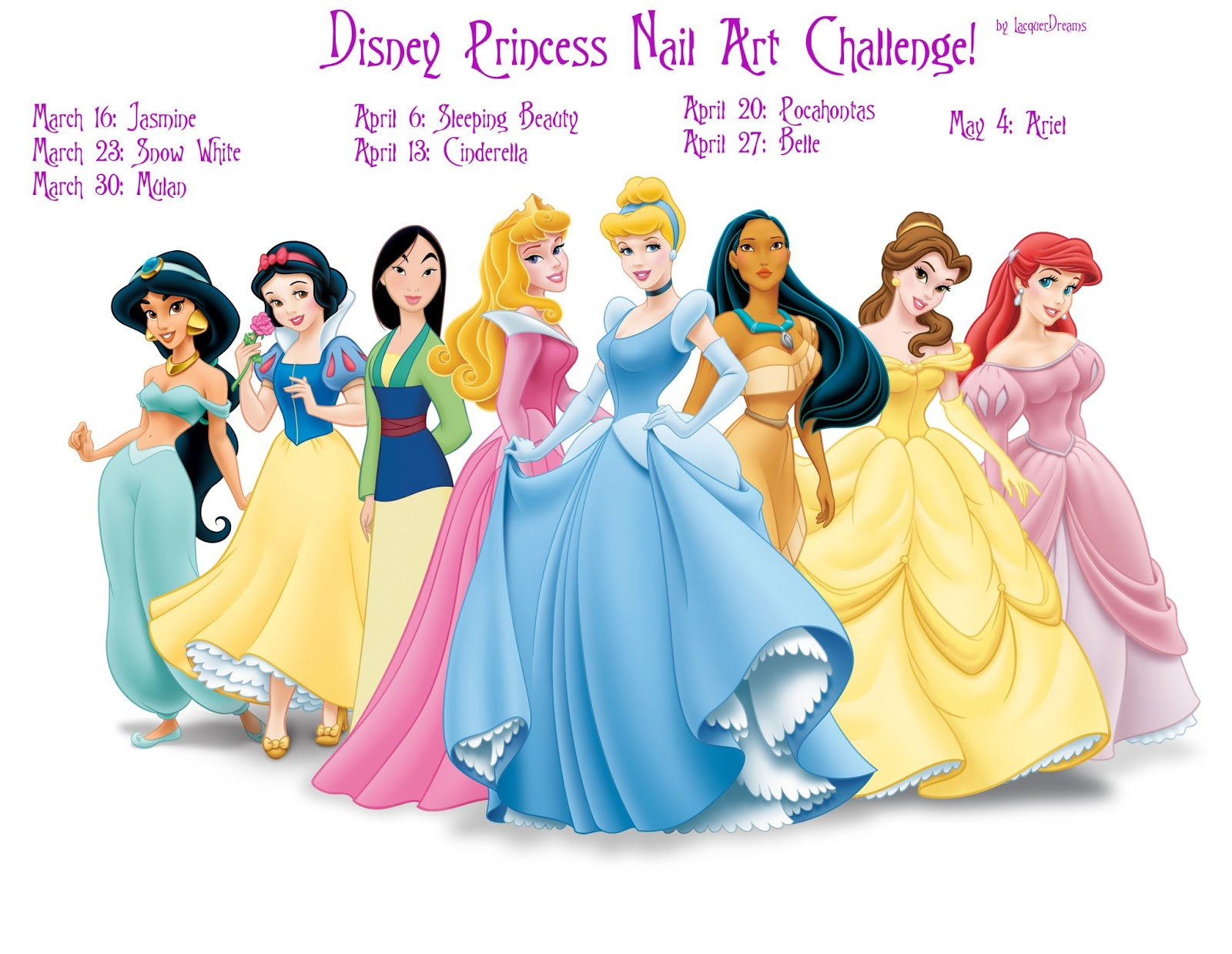 It S All About The Polish Disney Princess Challenge Sleeping Beauty