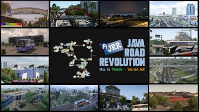 MAP JRR v0.2 - Map Indonesia ETS2 1.35 - 1.40