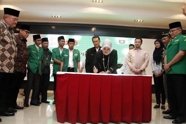 Alex Noerdin; Jadikan GP Ansor Organisasi Besar, Cerdas dan Berkwalitas