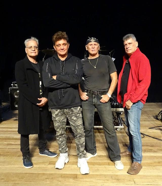 THE FEVERS (Augusto) com o vocalista Augusto Cesar estará no IMPERATOR com todos os seus sucessos