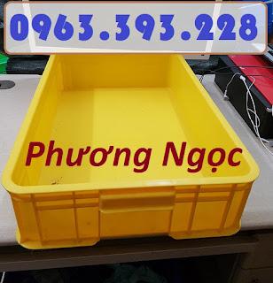 Sóng nhựa bít HS007, thùng nhựa đặc công nghiệp, thùng nhựa đặc có nắp, thùng nh 20180407_115623