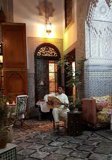 Riad Al Pacha em Fez, Marrocos.