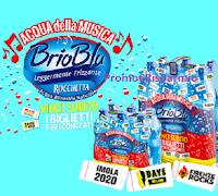 Logo Brio Blu concorso '' Vinci i biglietti'' : in palio 400 biglietti per concerti