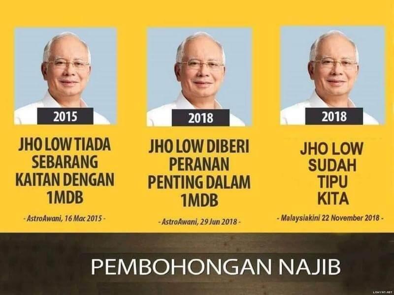 Najib Razak Penipu