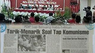 Saat Megawati Presiden, PDIP juga Berjuang Habis-habisan agar TAP MPRS Larangan PKI Dicabut