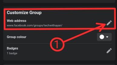 How to change facebook group URL ( फेसबुक ग्रुप  यूआरएल कैसे बदलें )