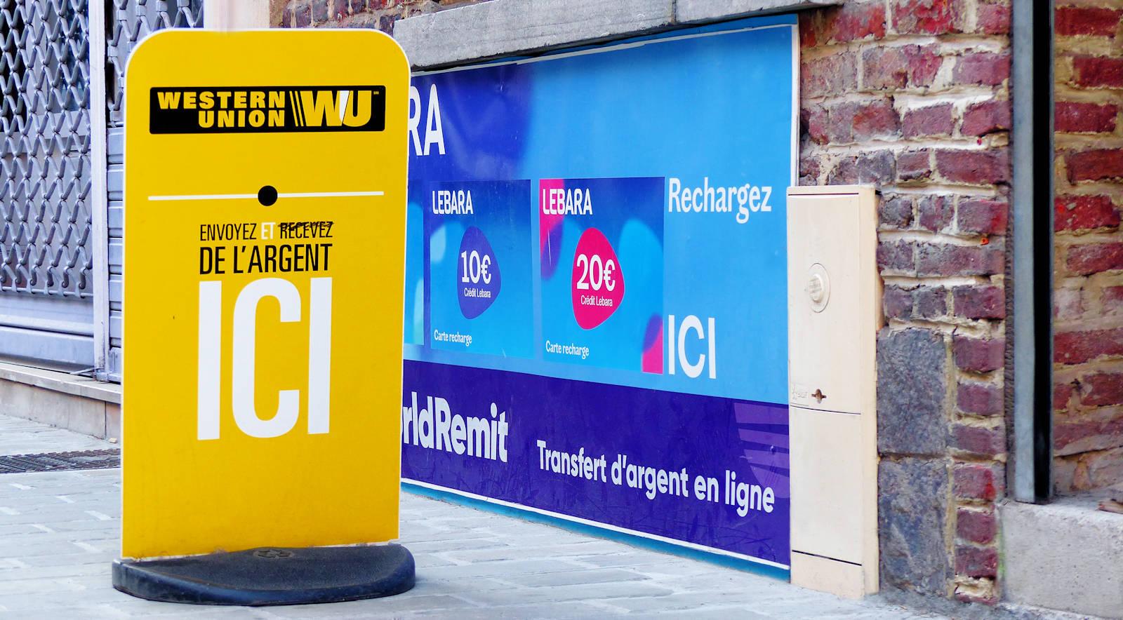 Western Union Tourcoing - Wordcom, rue du Haze, Tourcoing centre.
