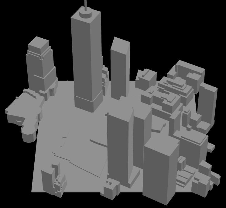 3D print your city