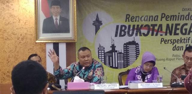 Tolong Presiden Buat Kajian Yang Membenarkan Ibukota Harus Dipindah