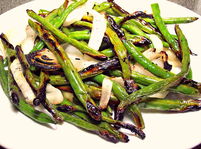 Grilled Grean Beans