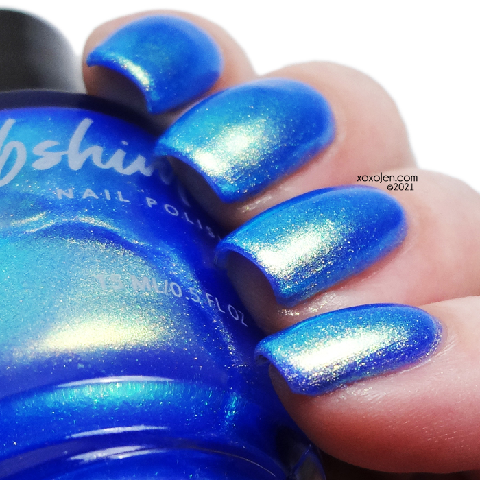 xoxoJen's swatch of KBShimmer Cruise Control