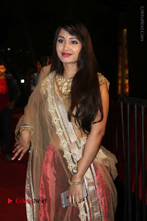 Actress Vennela Stills in Lehenga Choli at Gemini TV Puraskaralu 2016 Event  0012.JPG