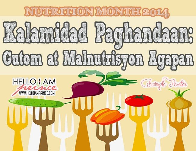 essay writing about nutrition month tagalog