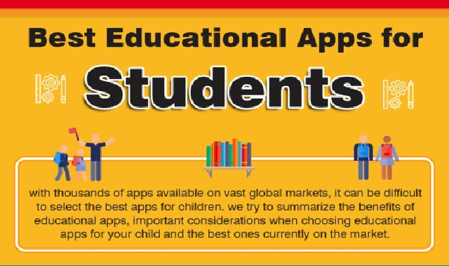 Best Mobile Apps for Students #infographic