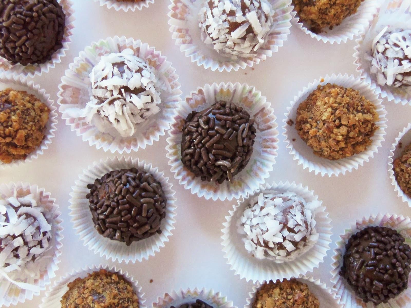 Simply Romanesco: Brazilian Chocolate Truffles