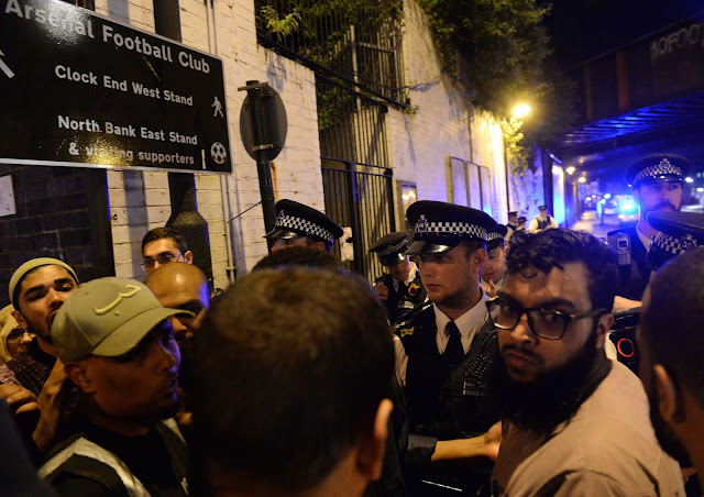 One killed, 10 injured in North London mosque incident, police say