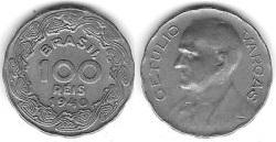 Moeda de 100 Réis, 1940