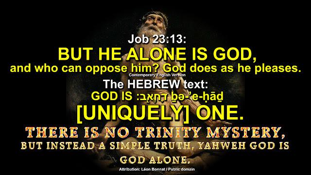 Job 23:13,