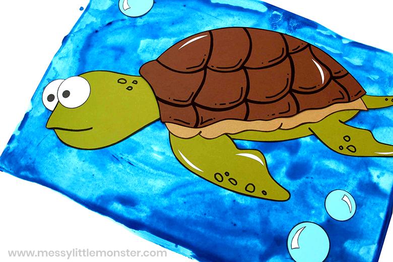 turtle paper craft
