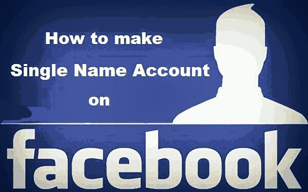 How to make Single Name Account on Facebook or How to Hide Last Name on Facebook.